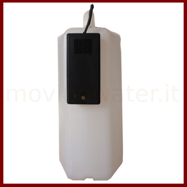Plastic bin 15 L with sound device