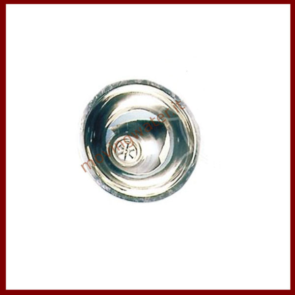 Sink hemispherical stainless steel
